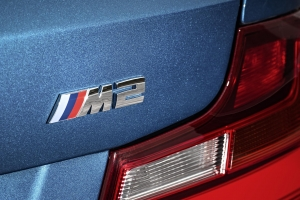 BMW M2 rear badge