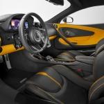 McLaren 570S inside