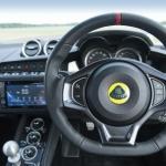 Lotus Evora 400 behind the wheel