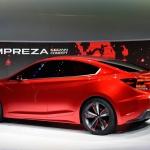 Subaru Impreza concept car rear