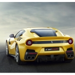 Ferrari F12 TDF rear