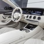 Mercedes Benz S class cab dash