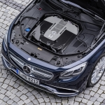 Mercedes Benz S class engine