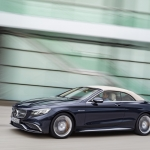Mercedes Benz S class front and side