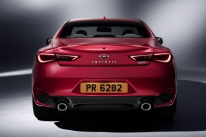Infiniti Q60 coupe rear
