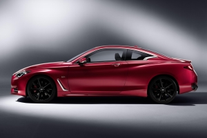 Infiniti Q60 coupe side