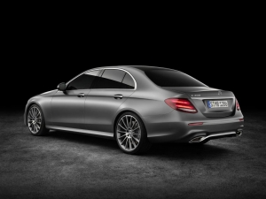 Mercedes Benz E-class rear and side