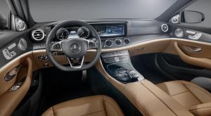 New Mercedes Benz E-class dash