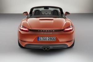 Porsche boxster 718 rear