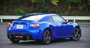 Subaru BRZ rear
