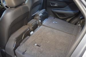 Mokka rear seats folded down