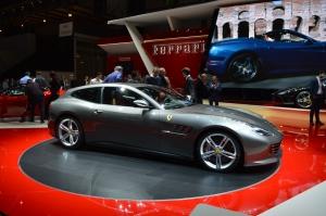 Ferrari GTC4Lusso side grey