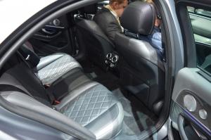 Mercedes Benz E Class 400 Rear seats