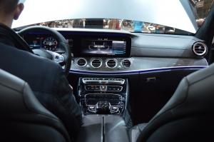 Mercedes Benz E Class 400 inside