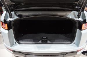 Range Rover Evoque Convertible Boot