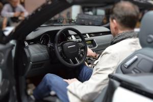 Range Rover Evoque Convertible Inside