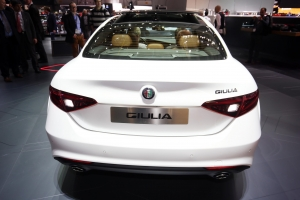 Alfa romeo rear