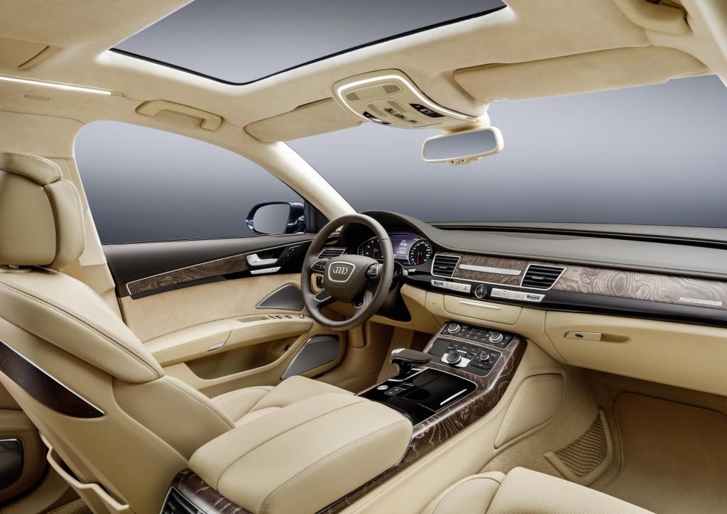 Audi A8 xxl dash