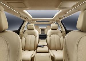 Audi A8 xxl rear seats