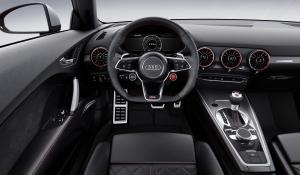 Audi TT RS dash