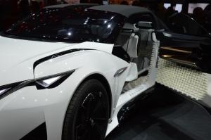 Peugeot Fractal Concept Car door