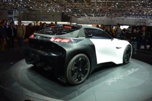Peugeot Fractal Concept Car rear