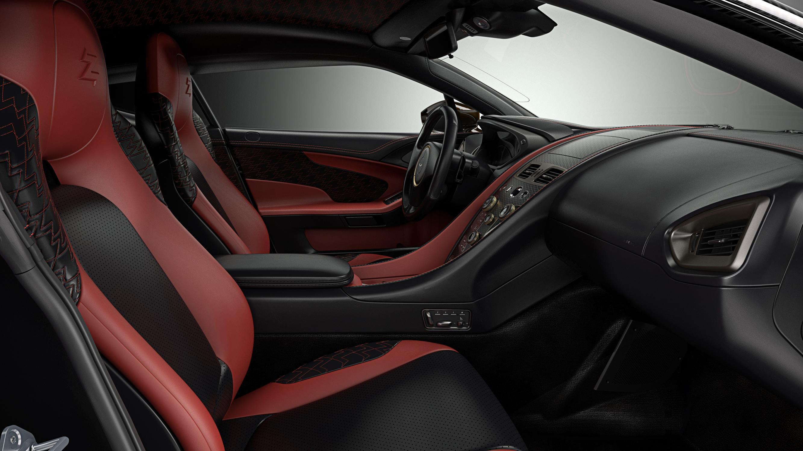 Aston Martin Vanquish Zagato Concept inside