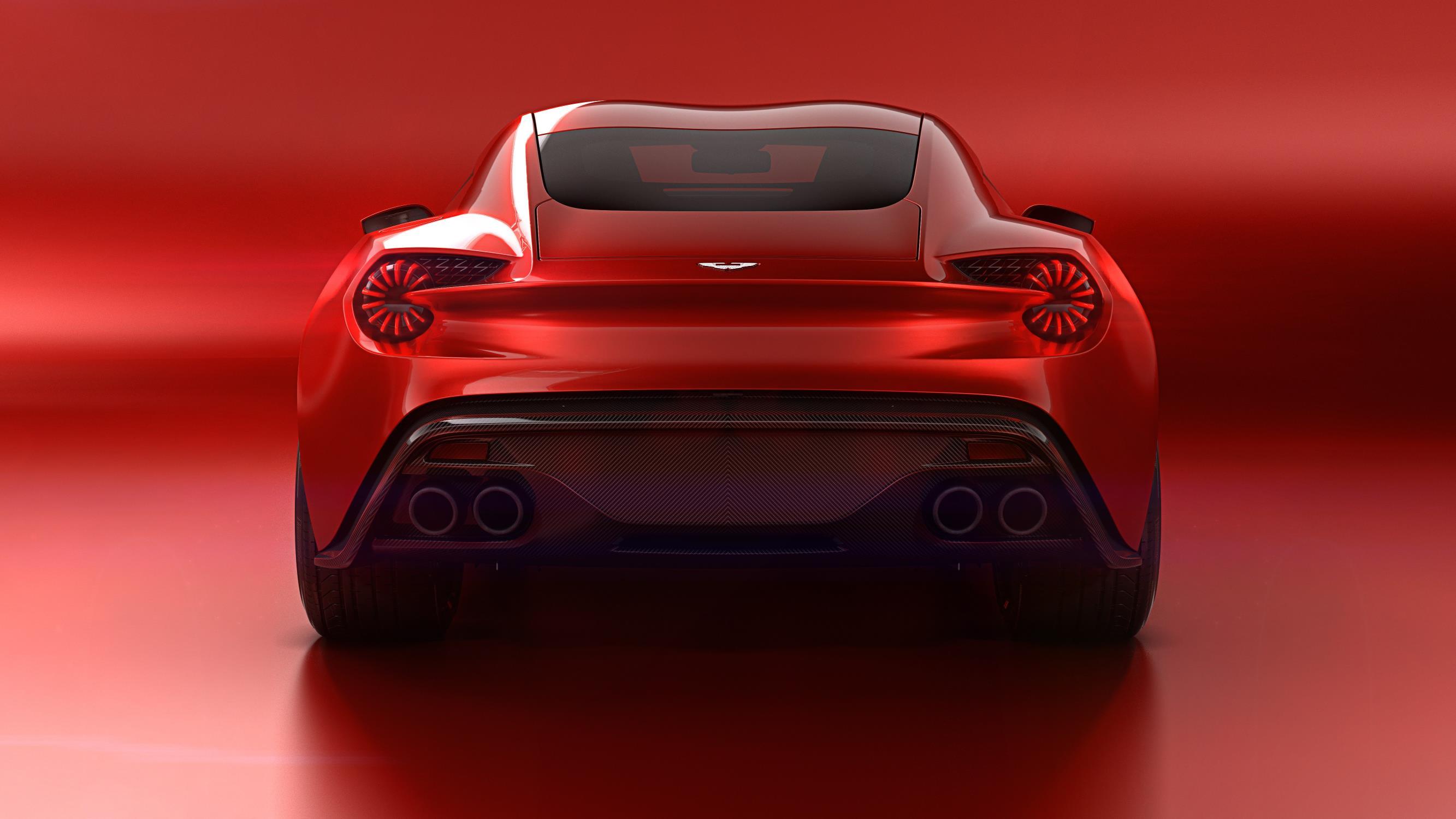 Aston Martin Vanquish Zagato Concept rear