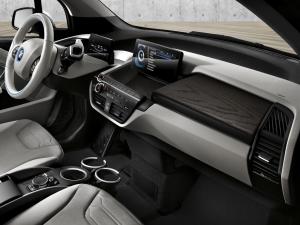 BMW I3 dash