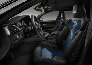 BMW M3 30 years seats