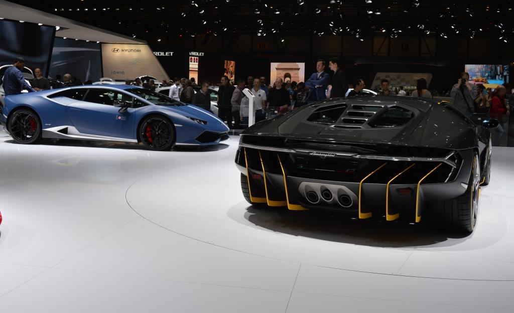 Lamborghini Centenario Rear 2