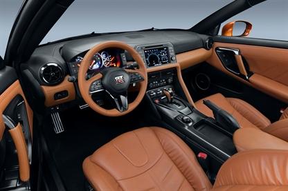 New Nissan GTR inside