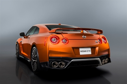 New Nissan GTR rear