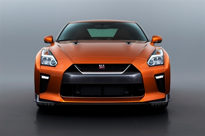 new Nissan GTR front