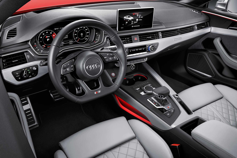 Audi S5 inside
