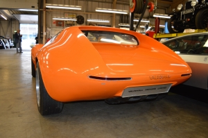 Vauxhall 1966 XVR Concept rear