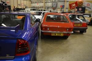Vauxhall Astra coupe 888 Chevette Nova SR rear