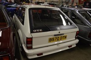 Vauxhall Mk1 Astra GTE rear