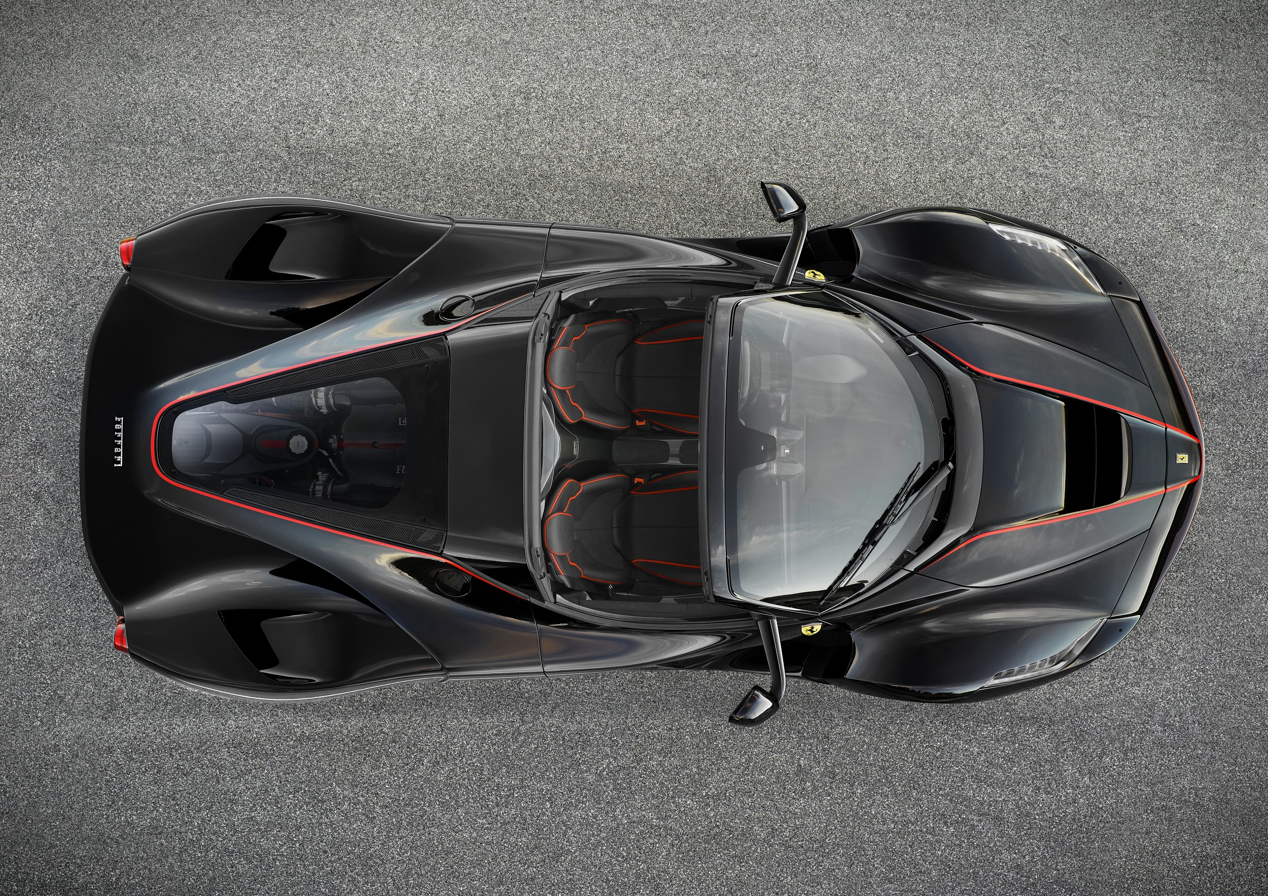 LaFerrari Drop Top From Above