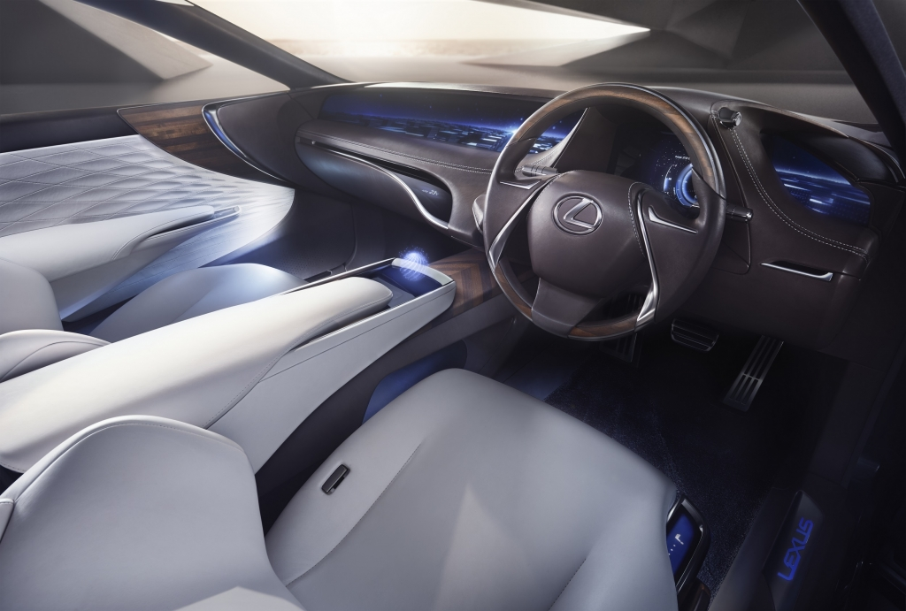 Lexus LF-FC Concept car inside