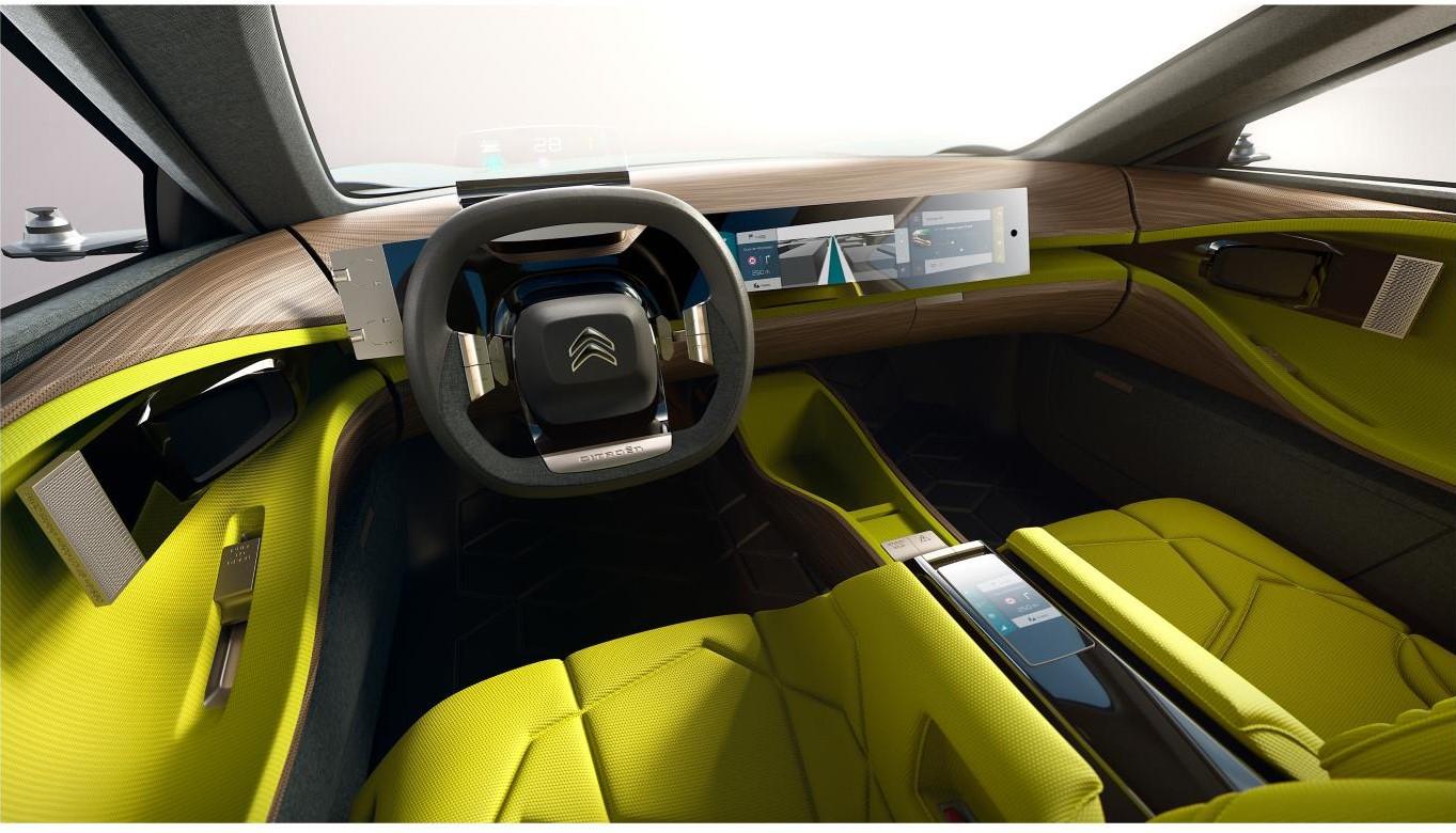 Citroen CXperience concept inside