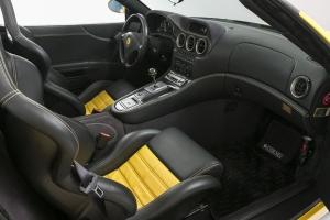 Ferrari Barchetta interior