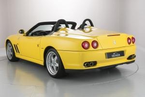 Ferrari Barchetta rear and side