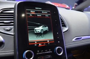 Renault Scenic Dash display