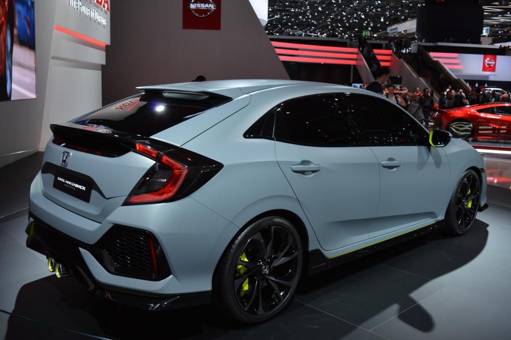 Honda Civic concept rear