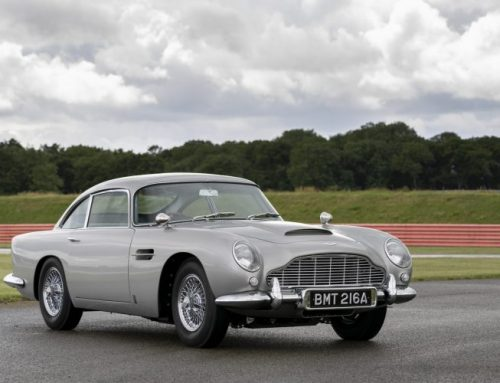 THE NEW ASTON MARTIN DB5 GOLDFINGER. New car news.