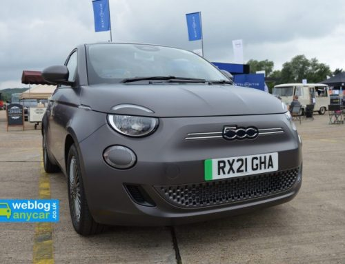 NEW ELECTRIC FIAT 500. Short new car review.