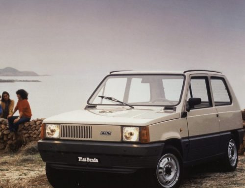 THE FIAT PANDA TURNS 40 YEARS OLD. New car news.