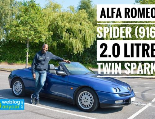 ALFA ROMEO SPIDER 2.0 LITRE TWIN SPARK AND WHY ITS FUN TO DRIVE.