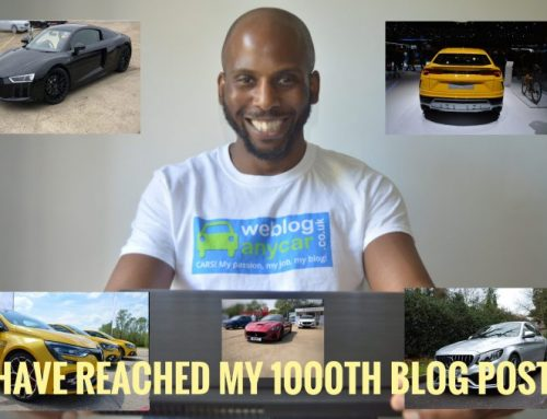 I HAVE REACHED MY 1000TH BLOG POST.